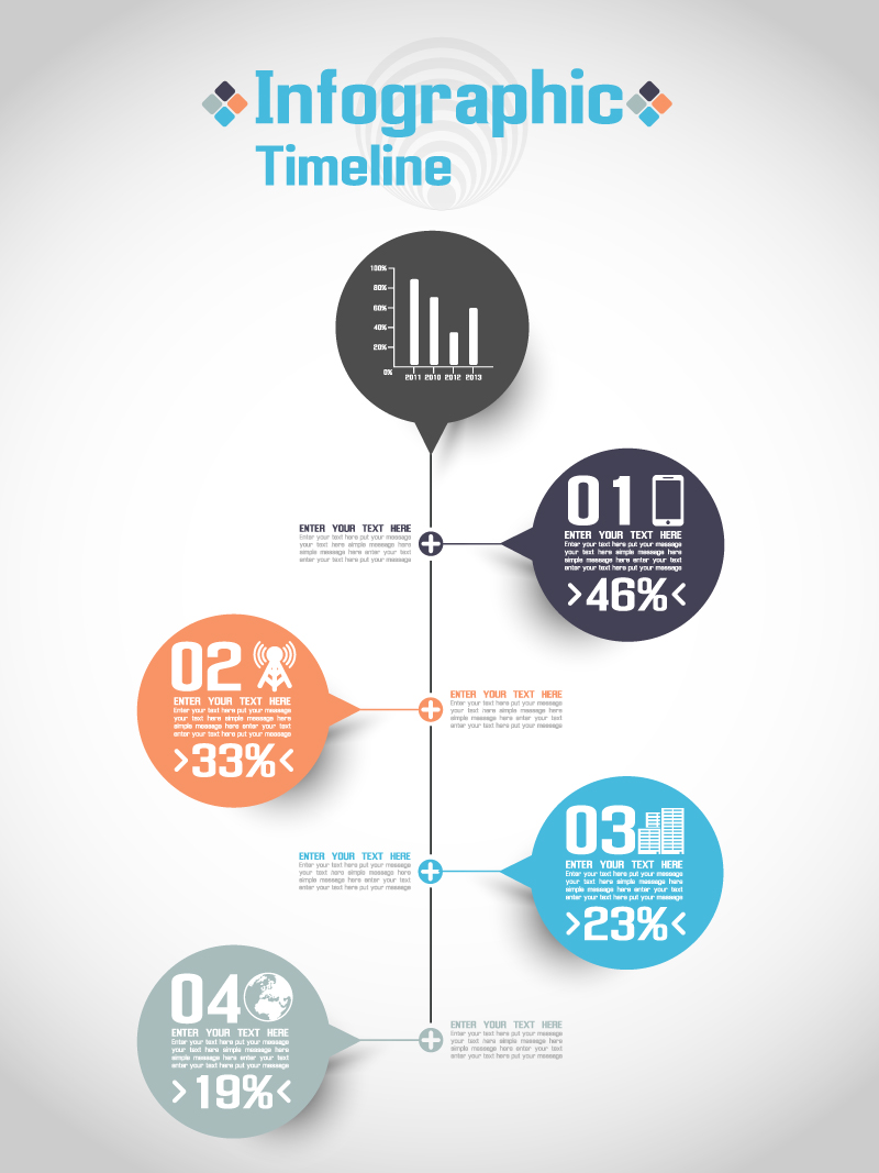 800x1067 Infographic Timeline Vector Free Vector Graphic Download