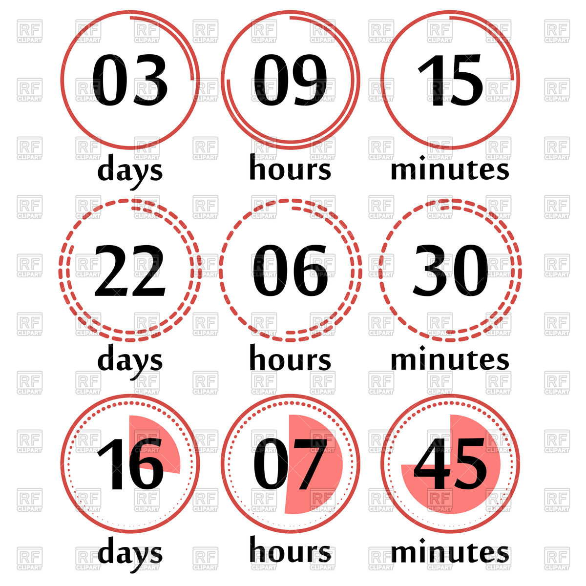 1200x1200 Live Countdown Template
