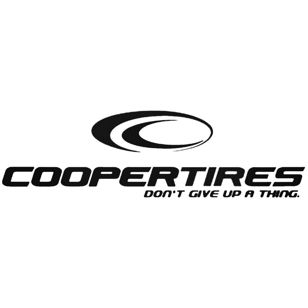 1000x1000 Cooper Tires Logo Vector Aftermarket Decal Sticker