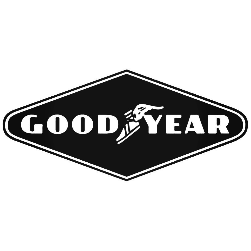 1000x1000 Goodyear Tire Logo Vector Aftermarket Decal Sticker
