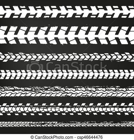 450x470 Motorcycle Tire Tracks 02. Motorcycle Tire Tracks Vector