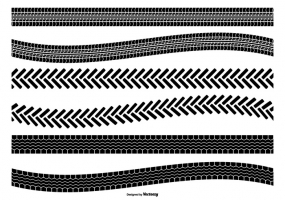 285x200 Mud Tire Tracks Free Vector Graphic Art Free Download (Found 447
