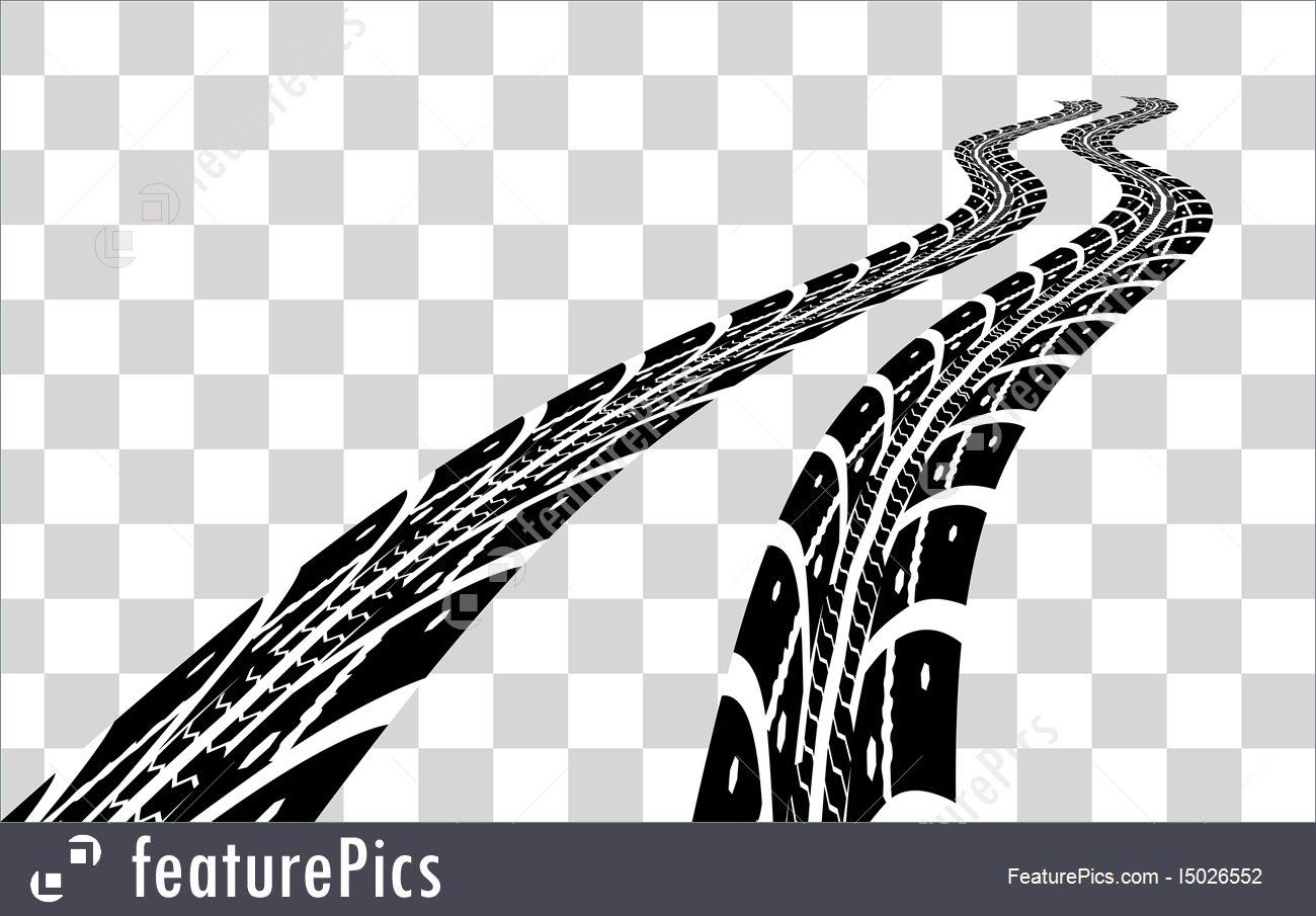 1300x905 Tire Tracks Vector