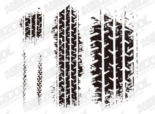 626x461 Tire Marks Vector Material Stuff To Try Tired