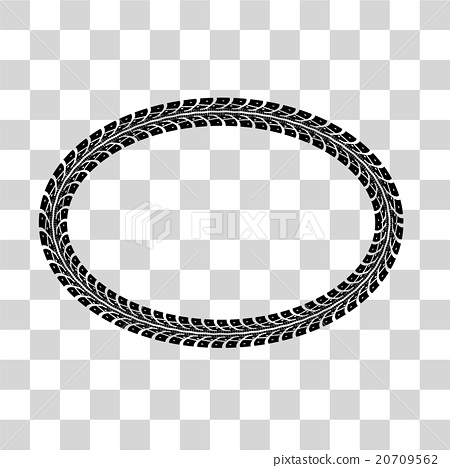 450x468 Tire Tracks Vector