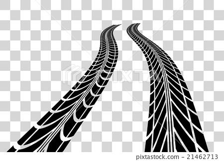 450x325 Tire Tracks Vector