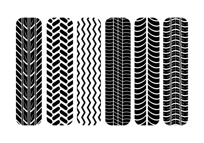700x490 Free Tire Marks Vector