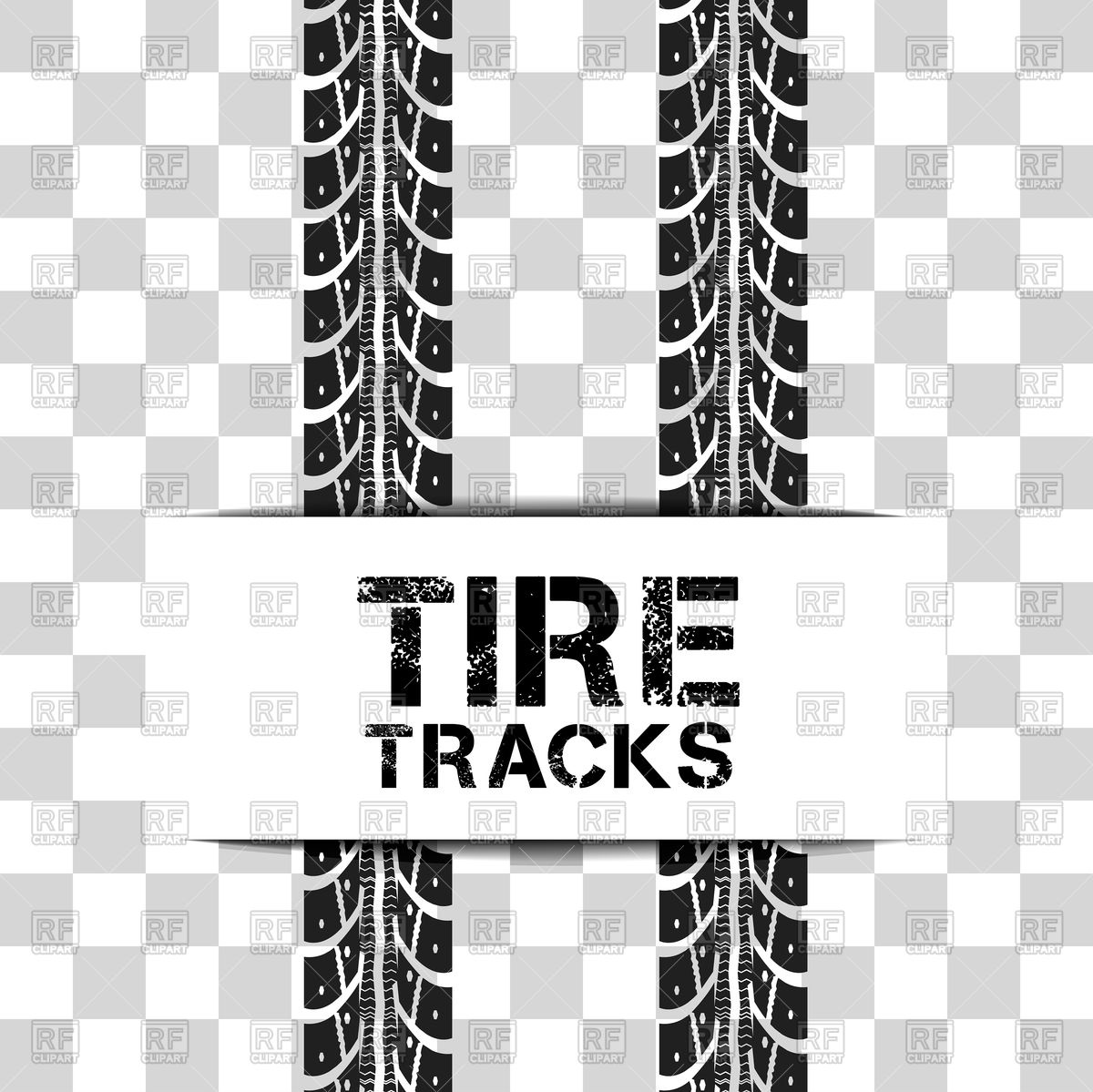1200x1199 Tire Tracks Background Vector Image Vector Artwork Of