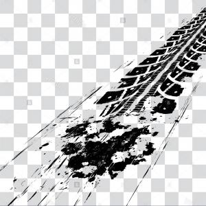 300x300 Photostock Vector Big Set Texture Of Vector Tire Tracks With
