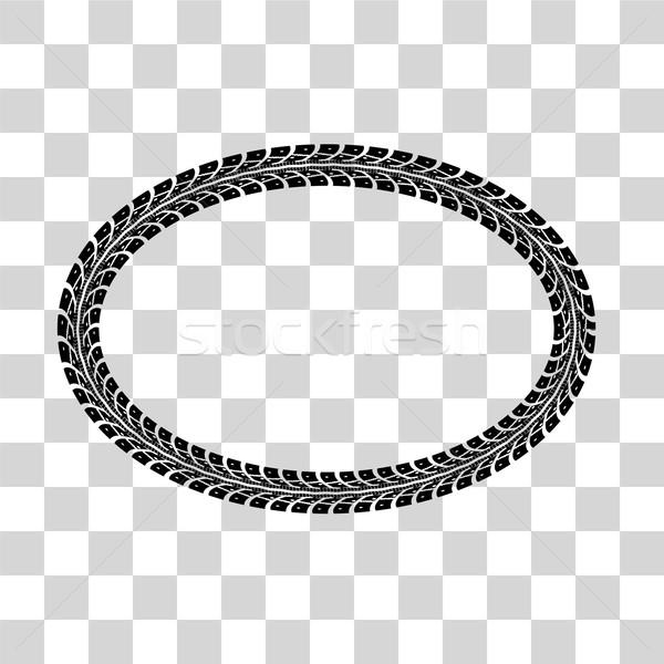 600x600 Tire Tracks Vector Vector Illustration Maxim Pavlov (M Pavlov