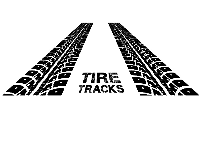 678x497 Vector Tire Tracks Backgrounds Design 04 Free Download