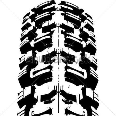 450x450 Dirt Bike Tire Tread