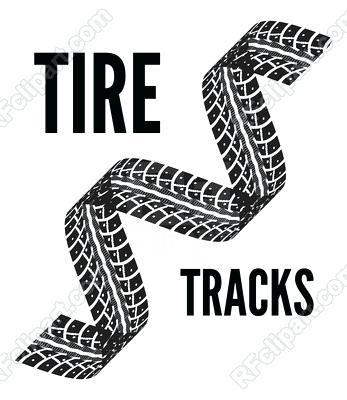 347x400 Tire Track Clip Art Tire Tread Vector Jeep Tire Tracks Clip Art
