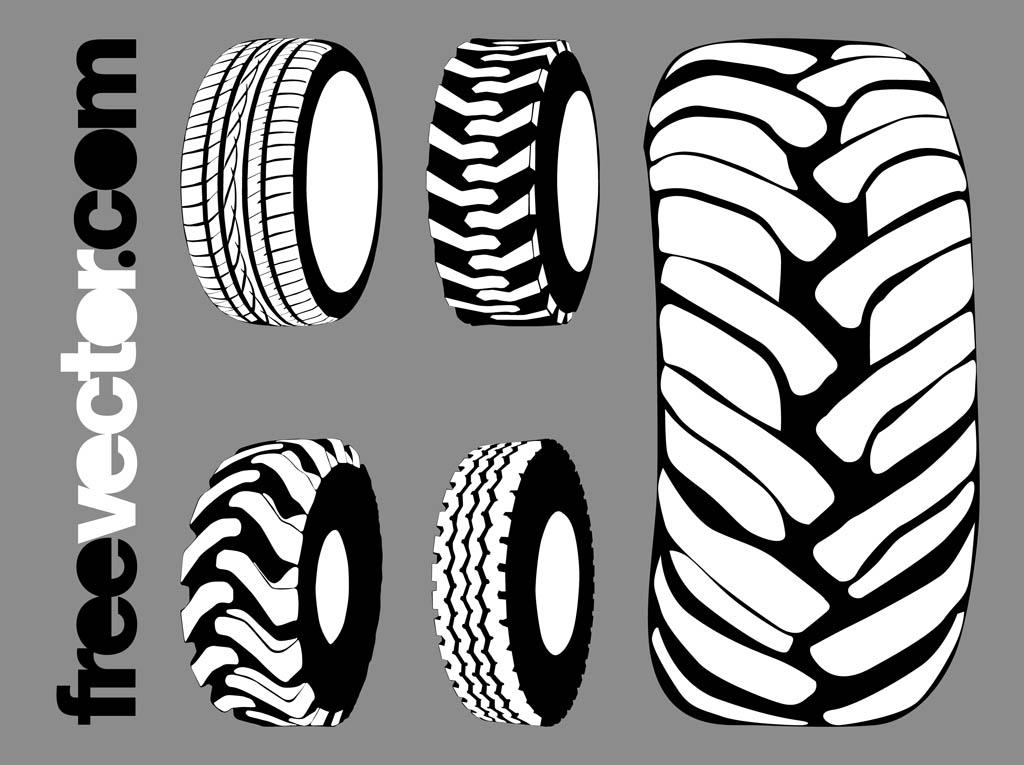 1024x765 Tires Graphics Set Free Vectors Ui Download