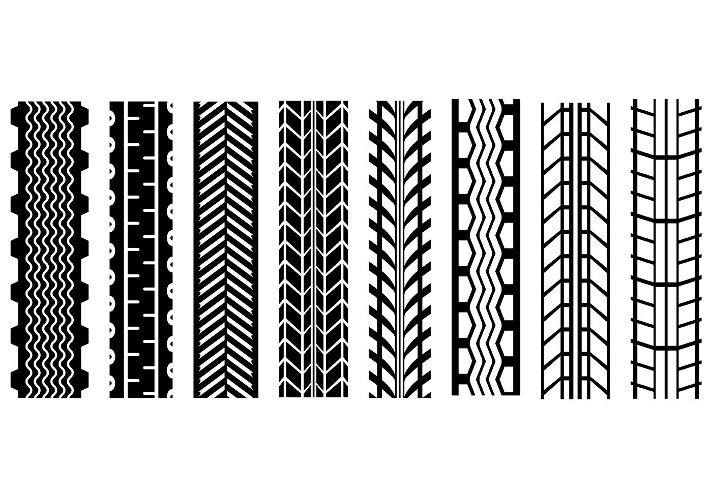 1400x980 Best Free Tire Tread Vector Art Image Collection