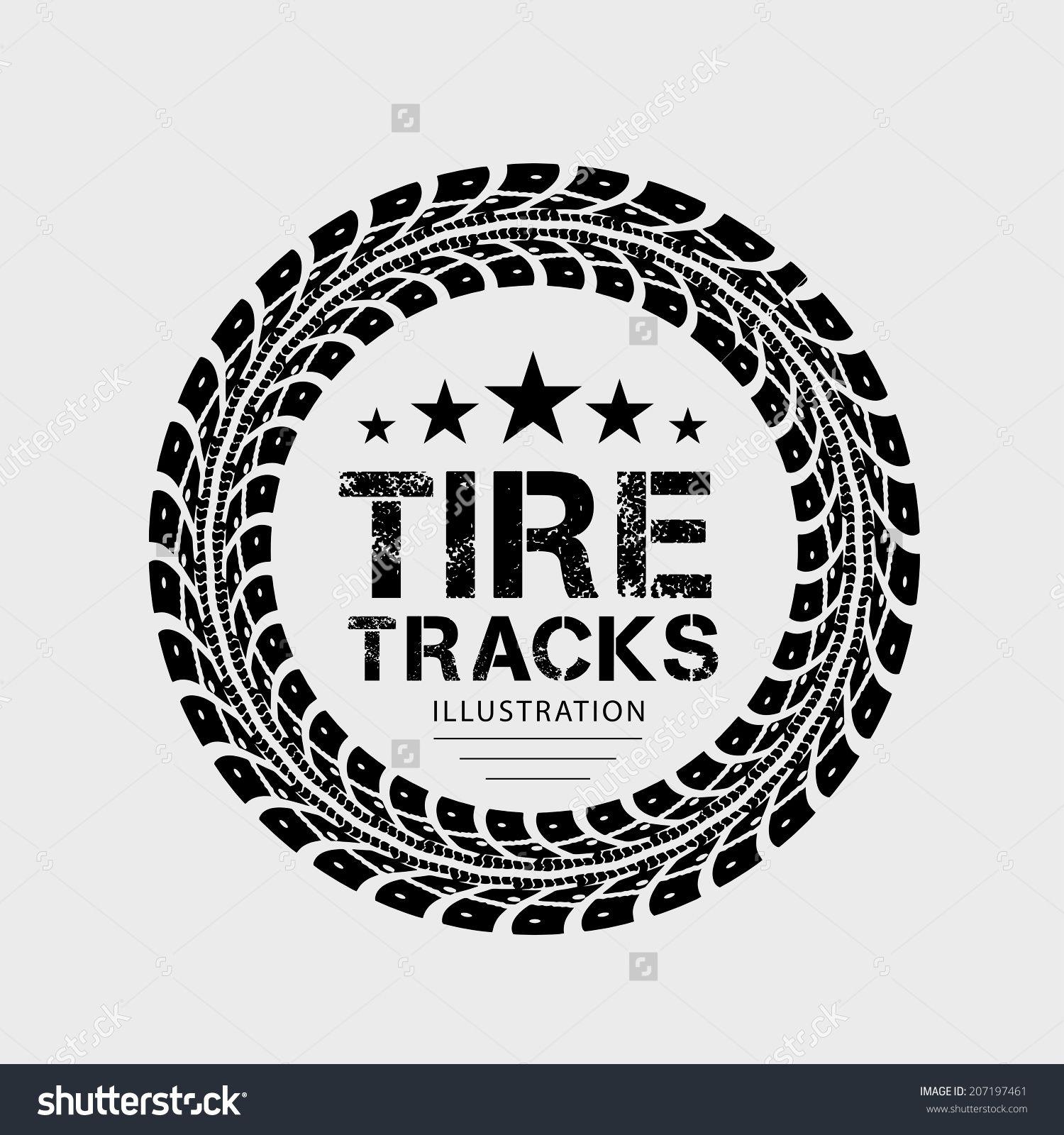 1500x1600 Grunge Tire Tread Vector