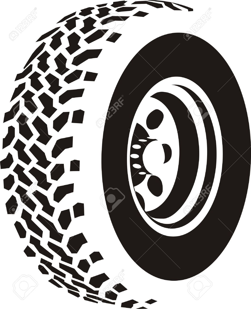 1058x1300 Collection Of Tire Clipart Vector High Quality, Free