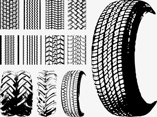 650x487 Various Tire Tire Vector Lines, Vector, Tire, Tire Lines Png And