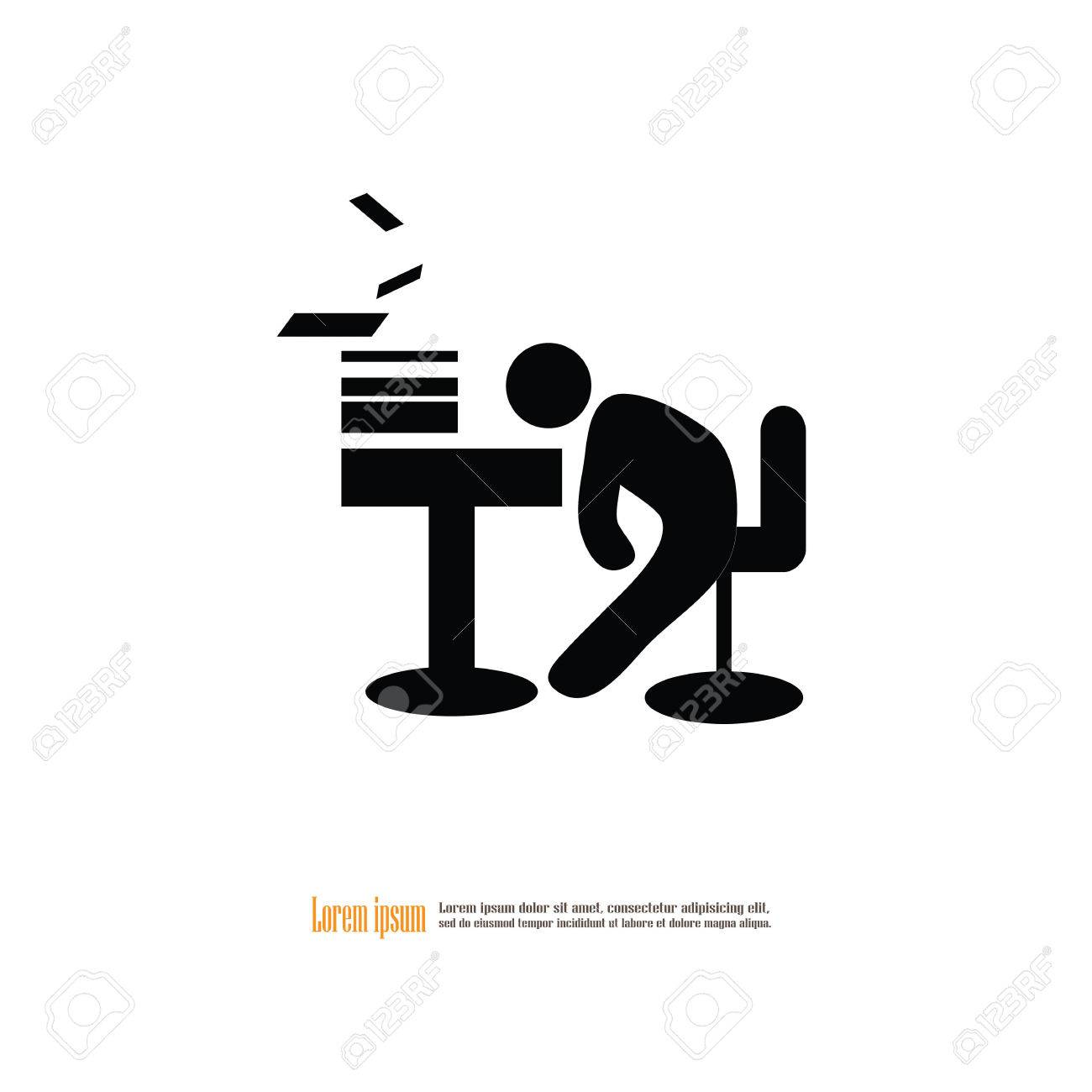 1300x1300 Tired Clipart Tired Worker