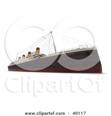 450x470 Titanic Necklace Clip Art