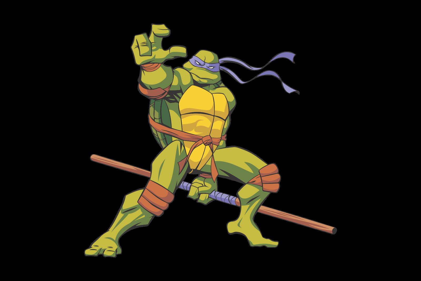 1600x1067 Tmnt Donatello Vector