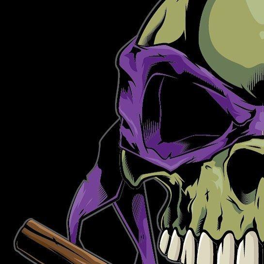 545x545 Tmnt Skull. Pop Culture Shirts Ninja Turtles