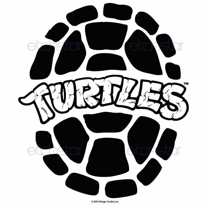700x700 Teenage Mutant Ninja Turtles Png Black And White Transparent