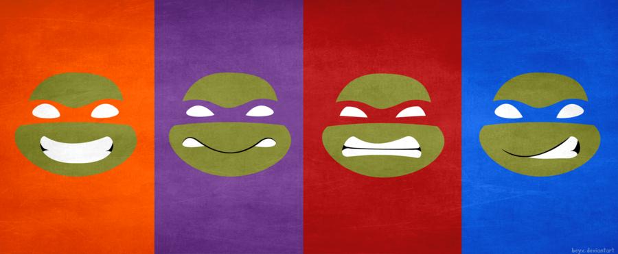 900x371 Teenage Mutant Ninja Turtles By Beyx