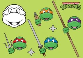 285x200 Teenage Mutant Ninja Turtles Free Vector Graphic Art Free Download