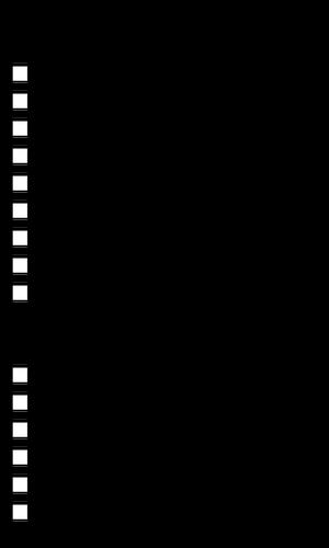 300x500 To Do List Vector Image Public Domain Vectors