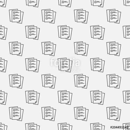500x500 To Do List Vector Linear Seamless Pattern Stock Image And Royalty
