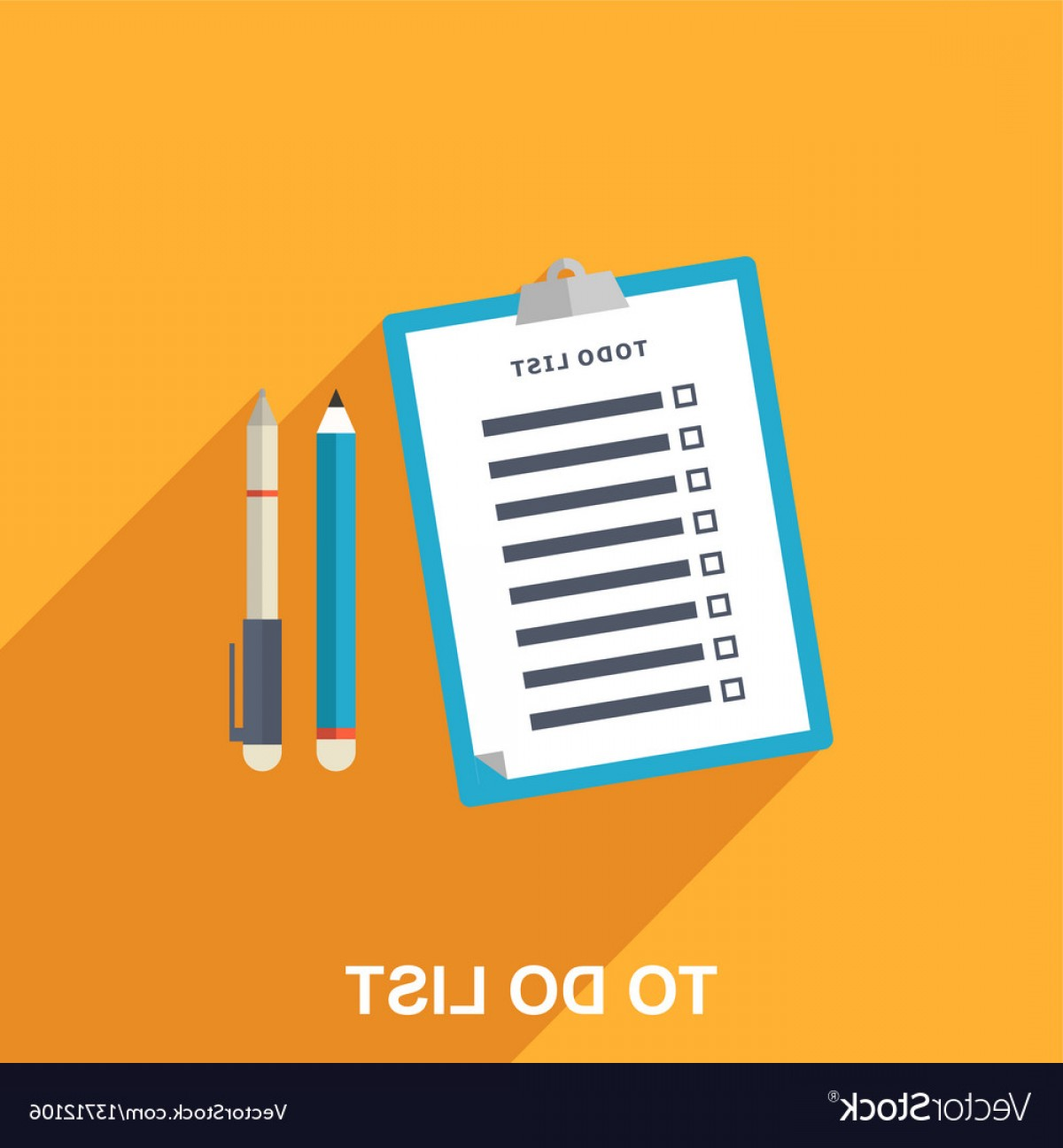 1200x1296 Flat Of To Do List Vector Shopatcloth