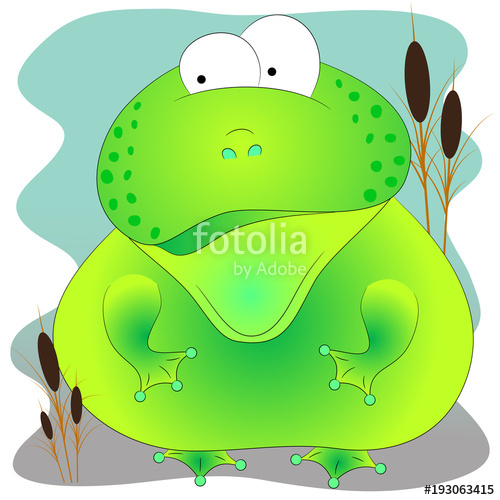 500x500 Green Cute Toad Stock Image And Royalty Free Vector Files On