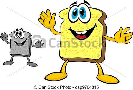 450x303 Breakfast Bread Toast. Smiling Breakfast Toast Of Bread In