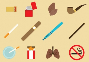 285x200 Tobacco Leaf Free Vector Graphic Art Free Download (Found 7,521