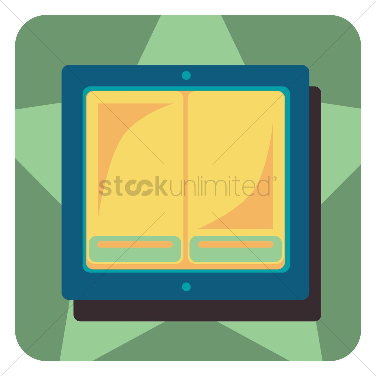 1300x1300 Toggle Switch Vector Image
