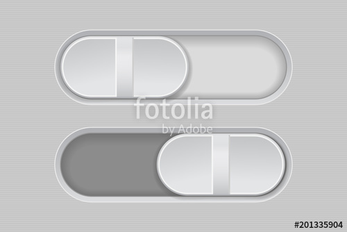500x334 Toggle Switch Buttons. On And Off Gray Buttons Stock Image And