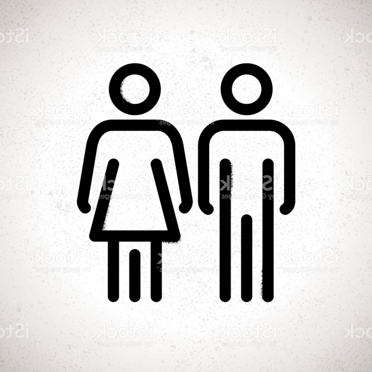 1228x1228 Toilet Indicating Sign Vector Men And Women Wc Directional Signs