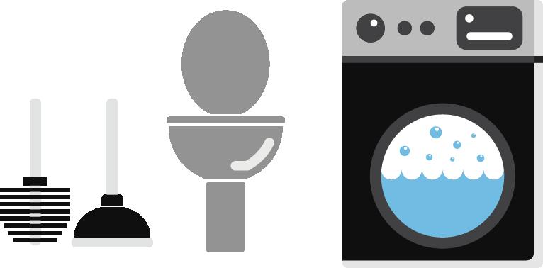 766x378 Vecteur Toilet Icon