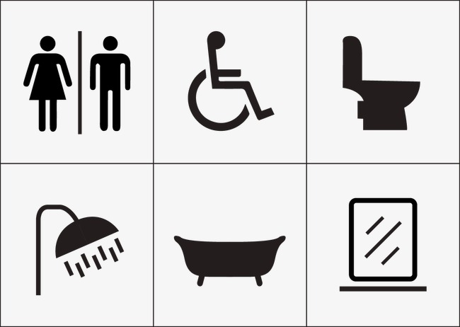 650x462 Men Women Disabled Toilet Icon, Vector, Bathroom, Mark Png And