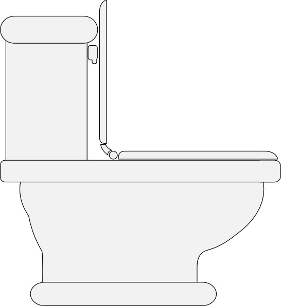 546x596 Toilet Seat Open Clip Art Free Vector In Open Office Drawing Svg