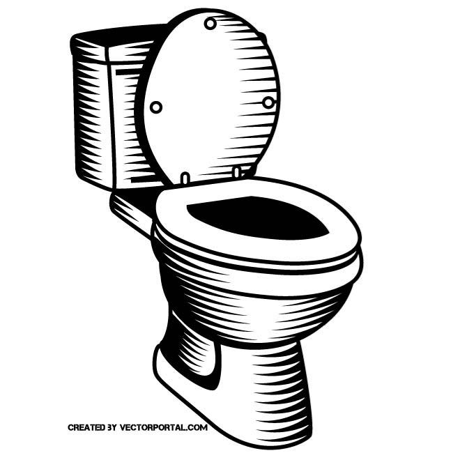 660x660 Toilet Seat Vector Clip Art By Vectorportal
