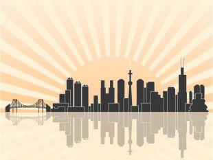 310x233 Tokyo Skyline Free Vector Free Vectors Ui Download