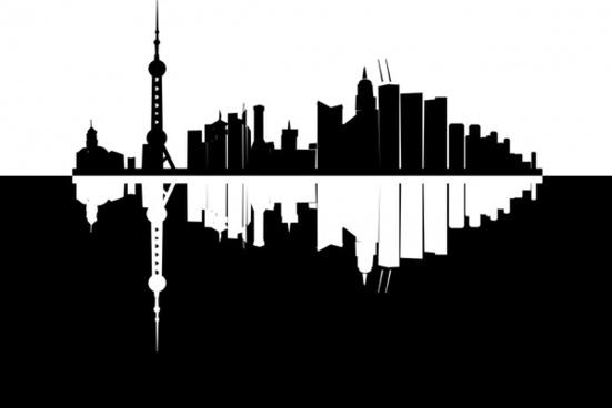 551x368 Tokyo Skyline Vector Free Vector Download (156 Free Vector) For