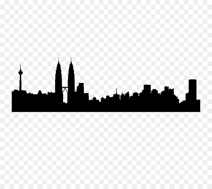900x800 Kuala Lumpur Skyline Silhouette Tokyo