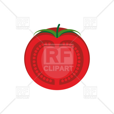 400x400 Tomato Slice Vector Image Vector Artwork Of Plants And Animals