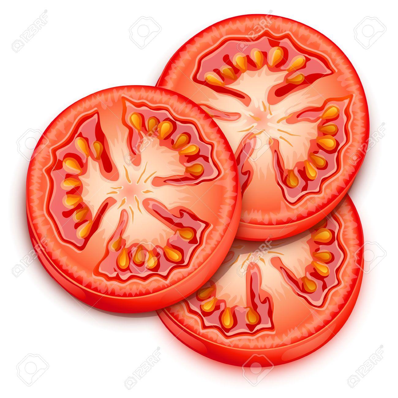 1300x1300 Cherry Tomato Clipart Sliced Tomato