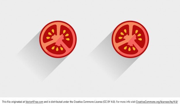 626x369 Vegetable Tomato Slice Vector Vector Free Download