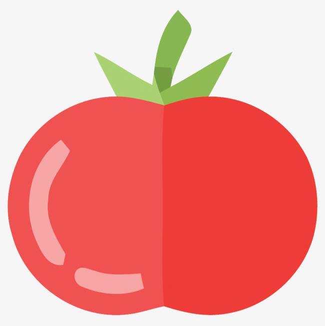 650x651 Flat Tomato Vector Material, Tomato, Material, Flat Material Png