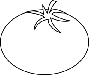 297x252 Drawing Clipart Tomato